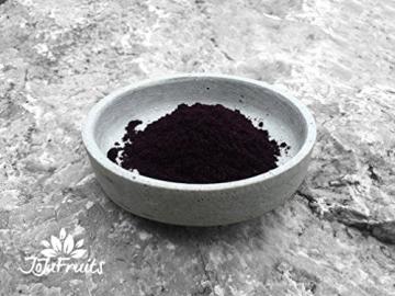 Acai Pulver Bio (100g) - JoJu Fruits - (Vegan, Glutenfrei, Laktosefrei) Superfood aus Bio Acai Beeren - 4