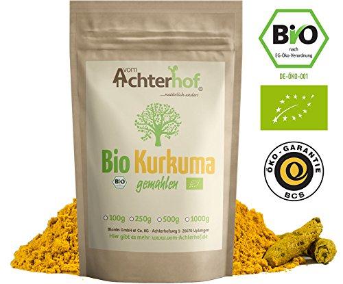 Bio-Kurkuma-Pulver 1kg Kurkumawurzel gemahlen