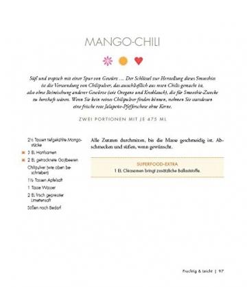 Das Buch der Superfood Smoothies: 100 gesunde Smoothie Rezepte für leckere Powerdrinks - 6