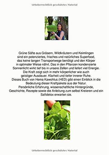 Grüne Säfte aus Gräsern, Wildkräutern und Keimlingen: Mit natürlichen Superfoods schlank und gesund zur Superfitness - 2
