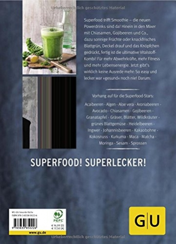 Superfood-Smoothies (GU Diät&Gesundheit) - 2