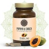 Papain Kapseln I Vegan I Papaya & Carica I Hochwertiges Papaya Extrakt I 90 Stück I Superfood I Natürliche Verdauung Und Ein Starkes Immunsystem I By Super & Natural - 1