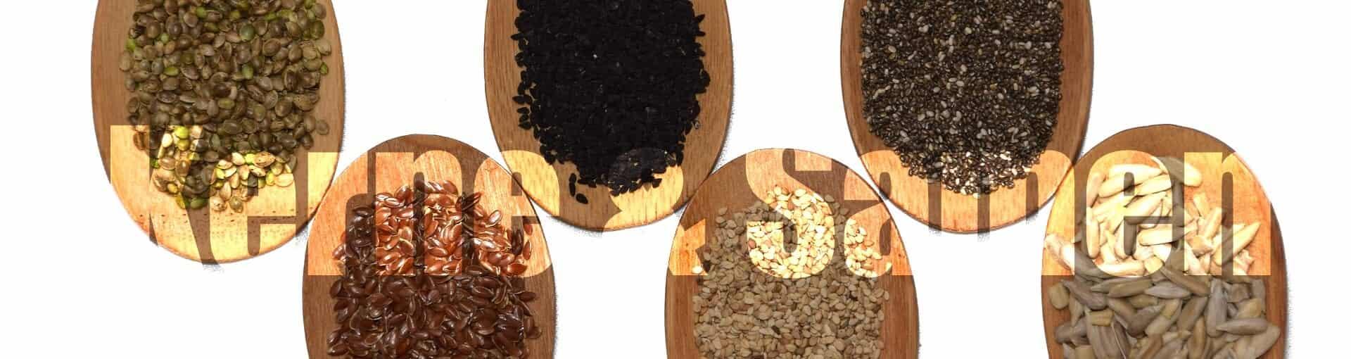 Superfood Kerne und Samen