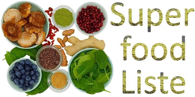 Superfoodliste